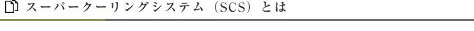 スーパークーリングシステム(SCS)とは
